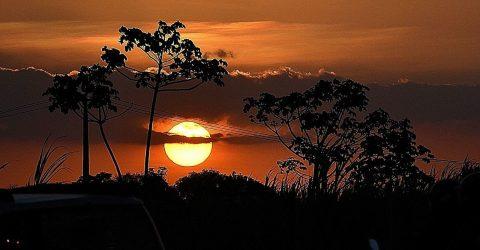 Pôr do Sol em Mata Redonda, Paraíba