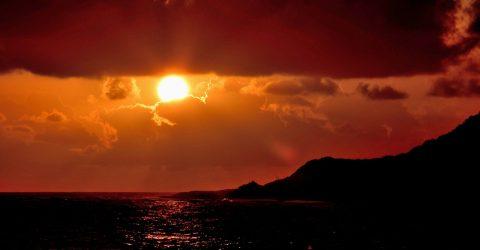 Nascer do Sol em Baía Formosa, Rio Grande do Norte