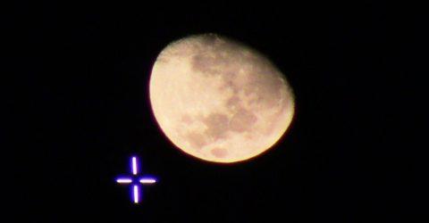 Lua reverencia Cruzeiro na cidade de  Alagoinha