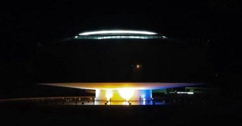 Estação Ciência vista à noite em João Pessoa, Capital da Paraíba.